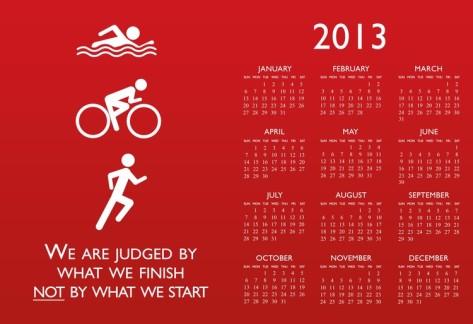 triathlon-2013-calendar-poster