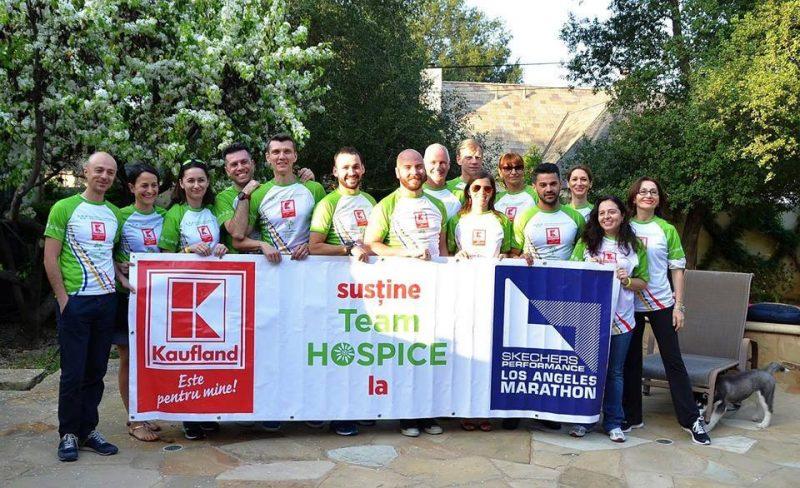Echipa Hospice la LA