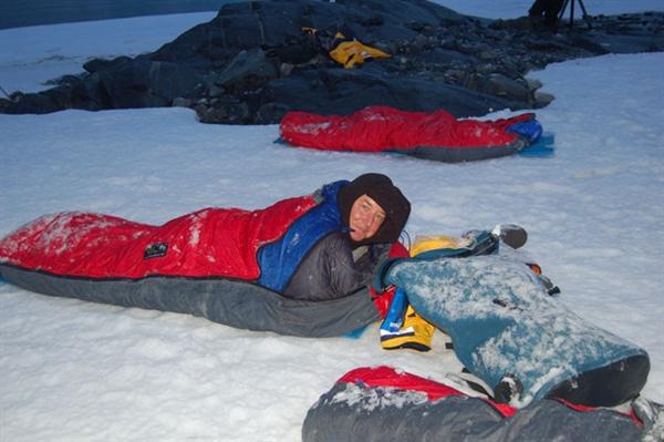 130307-antarctica-day4-kerry-sleeping-bag.photoblog600