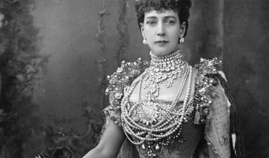 queen alexandra great britain coronation crown jewels
