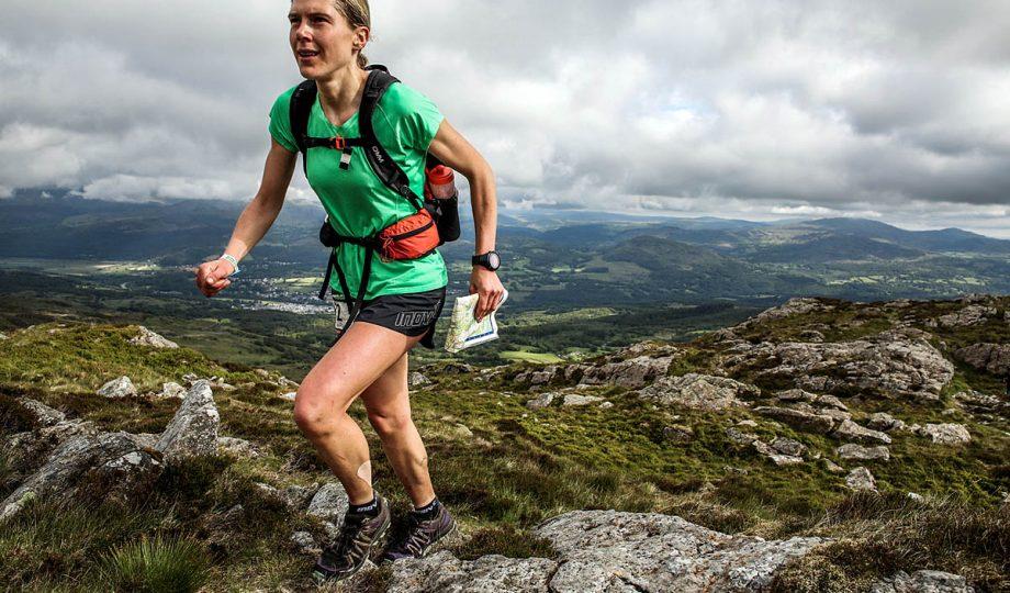 Jasmin Paris is still running strong in second position. Photo: Ian Corless